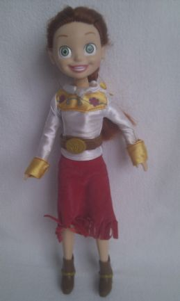 Adorable Pixar Disney 'Jessie' Cowgirl Toy Story Doll